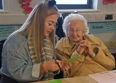 Community work helps students understand more about dementia
