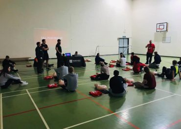 STUDENTS LEARN VITAL CPR SKILLS ON RESTART A HEART DAY